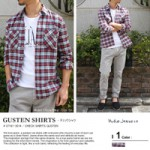 Nudie Jeans(ヌーディージーンズ)/GUSTEN SHIRTS(長袖 チェック シャツ)